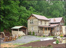 The Log Home One Large Or Two Separate Unit Rental Cabins